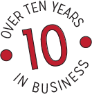 10 Years in business